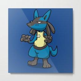 Pokémon - Number 448! Metal Print