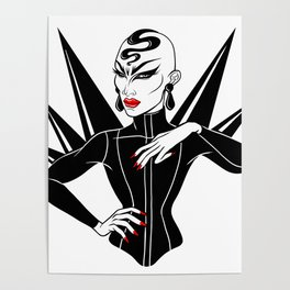 Sasha Velour, RuPaul's Drag Race Queen Poster