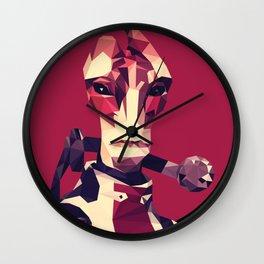 Facets of Mordin Wall Clock