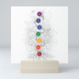 Chakra Tree Art Mini Art Print