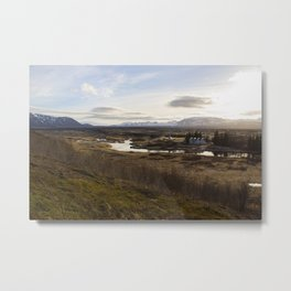Ísland 2 Metal Print