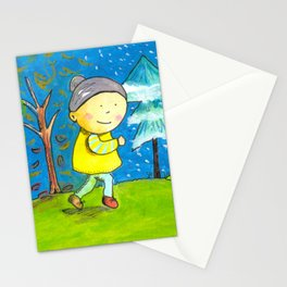 Run in every season of your life! Stationery Cards