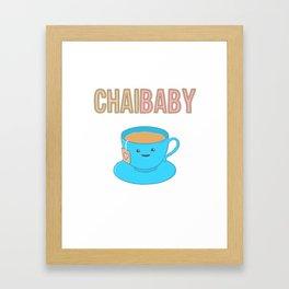 Chai Baby Framed Art Print