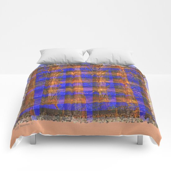 MADRONA TREE PLAID PATTERN Comforters