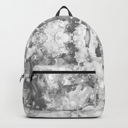 Abstract 20 Gray Backpack