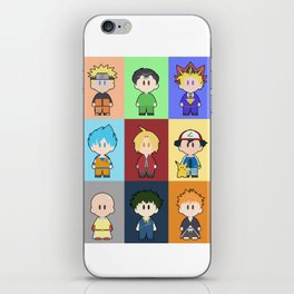 Anime Collage iPhone Skin