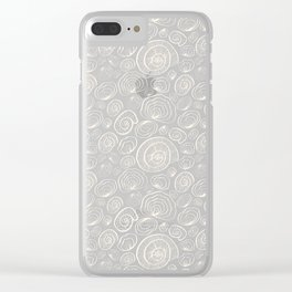 Nautilus pattern Clear iPhone Case