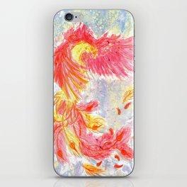 Firey Phoenix iPhone Skin
