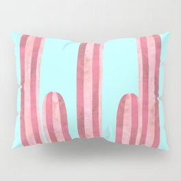 Garden of cacti and blue Pillow Sham