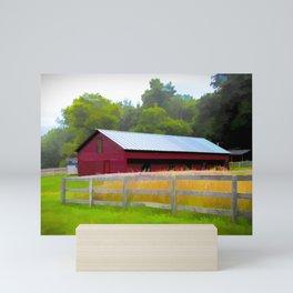 Painted Barn Mini Art Print