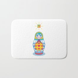 Cultural Exchange Bath Mat
