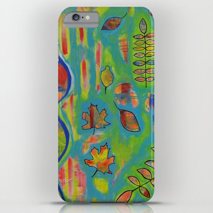 """Winds of Change"" Original painting by Toni Becker, Artfully Healing iPhone Case"