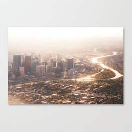 Autumn Cityscape Canvas Print