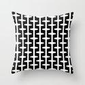 Geometric Pattern 207 (black white) by garyandrewclarke