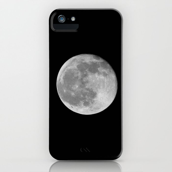 Full Moon iPhone Case