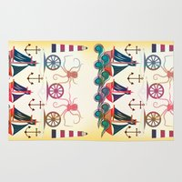sailor Area & Throw Rugs featuring Sailor by famenxt