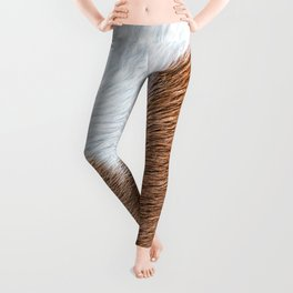 Cow Hide Print Pattern Leggings