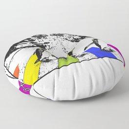 Penguin Pride Floor Pillow