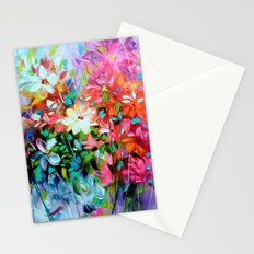 Floral extravaganza Stationery Cards