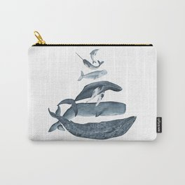 whale gatherin Carry-All Pouch