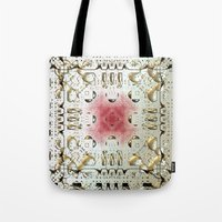egyptian Tote Bags featuring Egyptian Style by Lynn Bolt