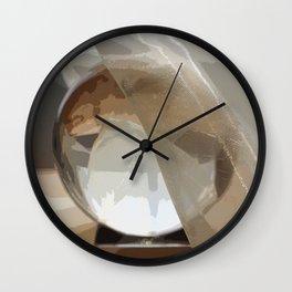 My crystal ball Wall Clock