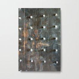 ancient wood and metal doors Metal Print