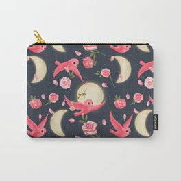 Owl & Moon Carry-All Pouch