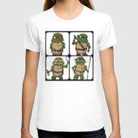 ninja turtle T-shirts featuring Teenage Mutant Ninja Turtle by Robbleeart