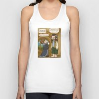 thorin Tank Tops featuring Thorin the Exchange Hobbit by BlacksSideshow
