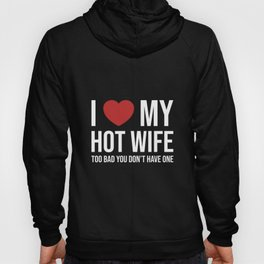 Marriage Wife Husband Wife Wedding JGA Hoody