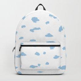 Abstract Art Inky Sky Cloud Backpack