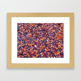 confetti island Framed Art Print