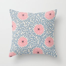 April Showers, May Flowers Throw Pillow