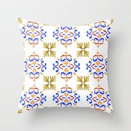 Fall in Lisbon Throw Pillow