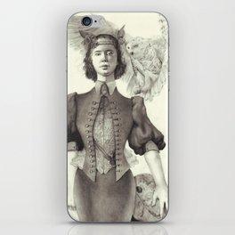 owl maiden iPhone Skin