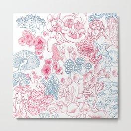 Mycology 1 Metal Print
