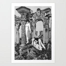 Ruin Art Print