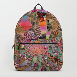 Shitty pink colored Clown Spiderweb Backpack