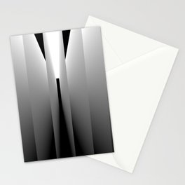 Origami: pattern of light and dark Stationery Cards
