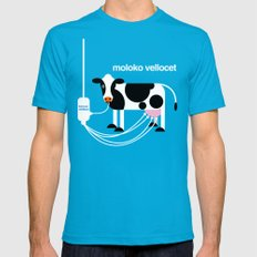 Moloko Vellocet LARGE Mens Fitted Tee Teal
