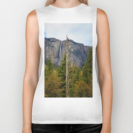 Tree In Yosemite Biker Tank