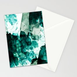 emerald & moss green Stationery Cards