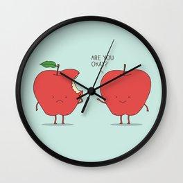 Apple Care Wall Clock