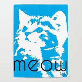 Meeooow Kitty Poster