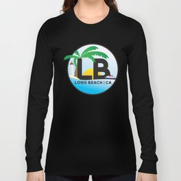 Long Beach CA Logo Design Long Sleeve T-shirt
