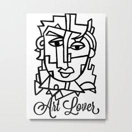 Art Lover Poster Print by Robert Erod Metal Print