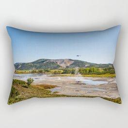 Bear Resort: Caldera Uzon Rectangular Pillow