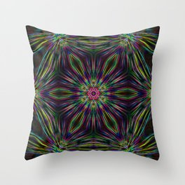 Kaleidoscope 04 Throw Pillow