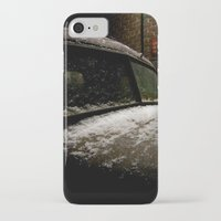 truck iPhone & iPod Cases featuring Truck Stop by Michael G. Mitchener